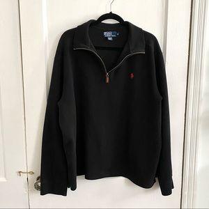 Polo By Ralph Lauren Men's Quarter Zip Sweater
